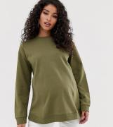 Sudadera caqui Ultimate de ASOS DESIGN Maternity