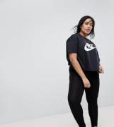 Leggings negros de talle alto de ASOS DESIGN CURVE