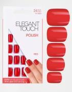 Uñas postizas con diseño cuadrado de Elegant Touch